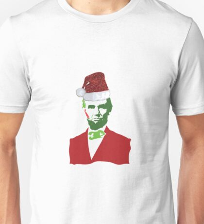 Merry Christmas, Abe! Unisex T-Shirt