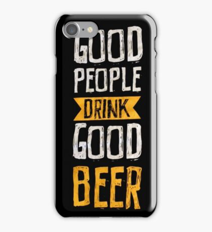Good Beer for St. Paddy's Day iPhone Case/Skin