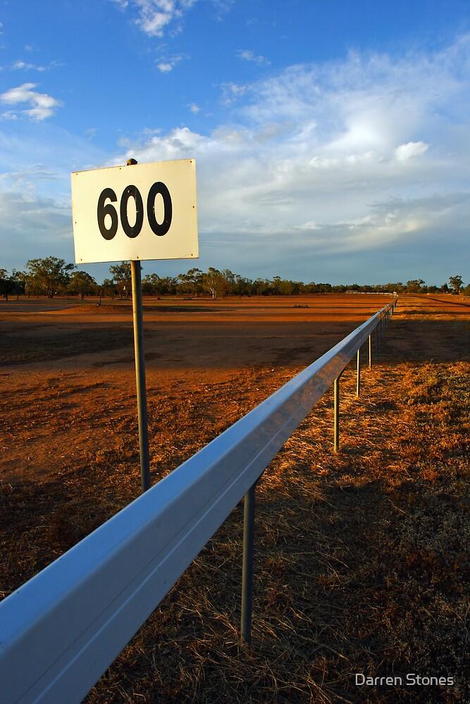 Lightning Ridge Racecourse by Darren Stones