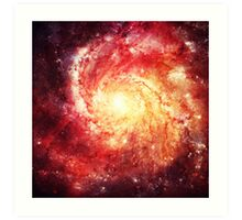 Deep Space Galaxy (Messier 101 Remix) Art Print