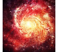 Deep Space Galaxy (Messier 101 Remix) Photographic Print