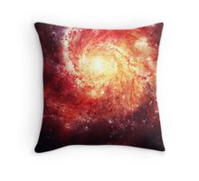 Deep Space Galaxy (Messier 101 Remix) Throw Pillow