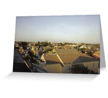 Rooftops of the Marigny Greeting Card