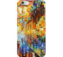 Lights In The Night - Leonid Afremov iPhone Case/Skin