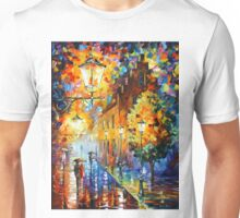 Lights In The Night - Leonid Afremov Unisex T-Shirt