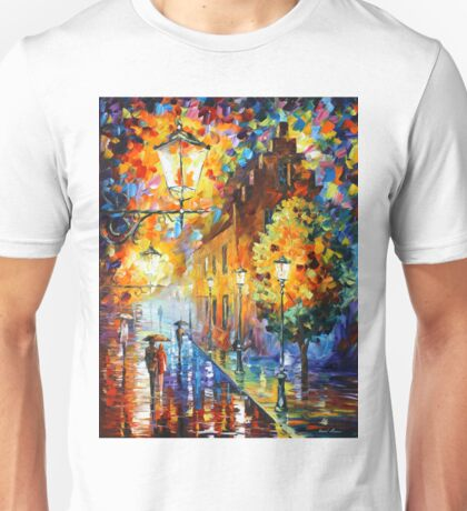 Lights In The Night - Leonid Afremov Unisex T-Shirt