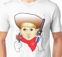 Sheriff Pop Gun Unisex T-Shirt