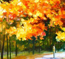 THE PATH OF SUN BEAMS - Leonid Afremov Landscape Sticker