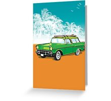 Old chevvy! Greeting Card