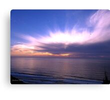 San Francisco Sunset 1410 Canvas Print