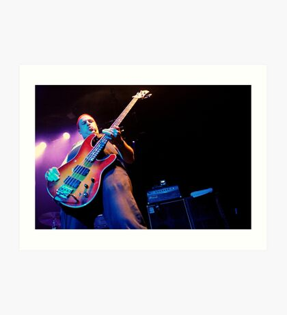 Dave Edwardson bassist Neurosis Art Print
