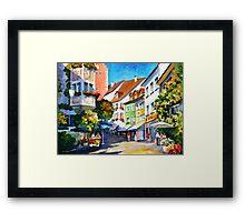 Sunny Germany - Leonid Afremov Framed Print