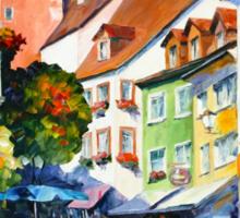 Sunny Germany - Leonid Afremov Sticker