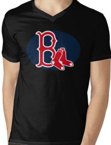 boston Mens V-Neck T-Shirt