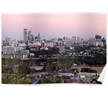 Brisbane at Dusk Poster
