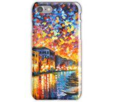 VENICE - GRAND CANAL - Leonid Afremov CITYSCAPE iPhone Case/Skin