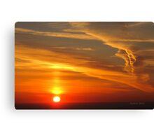 San Francisco Sunset 1411 Canvas Print