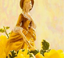 """Sandra"" Poreclain - Royal Doulton Figurine Still Life by Sandra Foster"