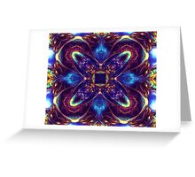 Fractal Psyche Greeting Card