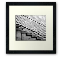 Step up to the plate Framed Print
