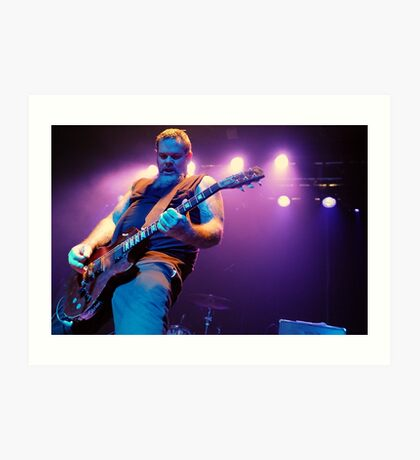 Scott Kelly vocalist and guitarist Neurosis Art Print