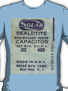 Solar Capacitor  - Blue T-Shirt