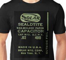 Solar Capacitor - Black Unisex T-Shirt