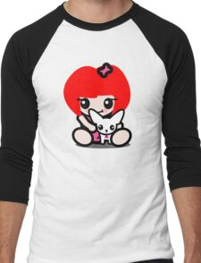 Cuddle Chi Chi Men's Baseball ¾ T-Shirt