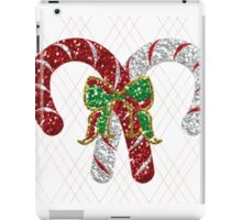 Battle of the Candy Canes iPad Case/Skin