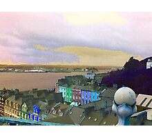Cobh, Final Port Of Call For The Titanic boat ship  Photographic Print