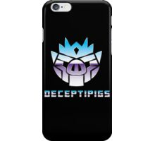 Deceptipigs iPhone Case/Skin