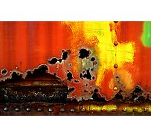 rust never sleeps Photographic Print