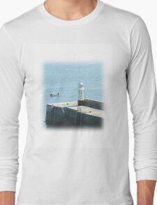 Mevagissey Lighthouse Long Sleeve T-Shirt