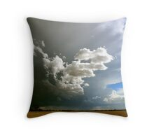 Get inside Ma...Storms a comin! Throw Pillow