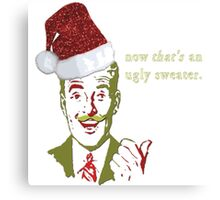 Now THAT'S an Ugly Sweater Metal Print