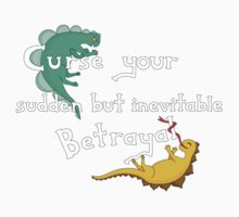 Curse Your Sudden But Inevitable Betrayal (for Dark) One Piece - Long Sleeve