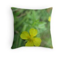 Buttercup Beauty Throw Pillow