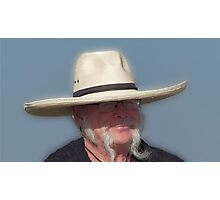 All Hat, No Cattle...... Photographic Print
