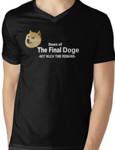 Dawn of the Final Doge Mens V-Neck T-Shirt