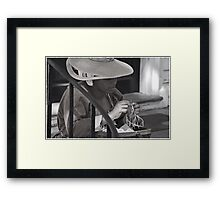 Very Shy Framed Print