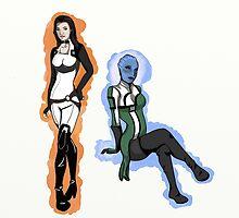 Interstellar Babes by McKenzie McQuirk