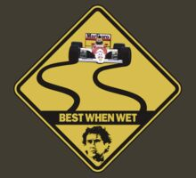 Senna - Slippery When Wet by theflipimage
