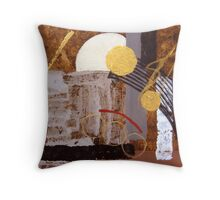 African Moon Throw Pillow