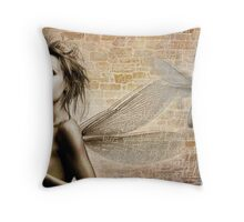 Urban Angel Throw Pillow
