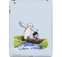Hiro and Baymax iPad Case/Skin