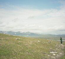 Walking stony path by HELUA
