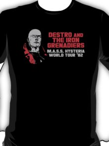Destro And The Iron Grenadiers World Tour '82 T-Shirt