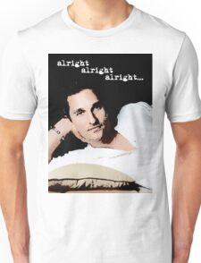 Alright Alright Alright - color Unisex T-Shirt