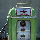 Vintage Flying A Gasoline Pump by javidano