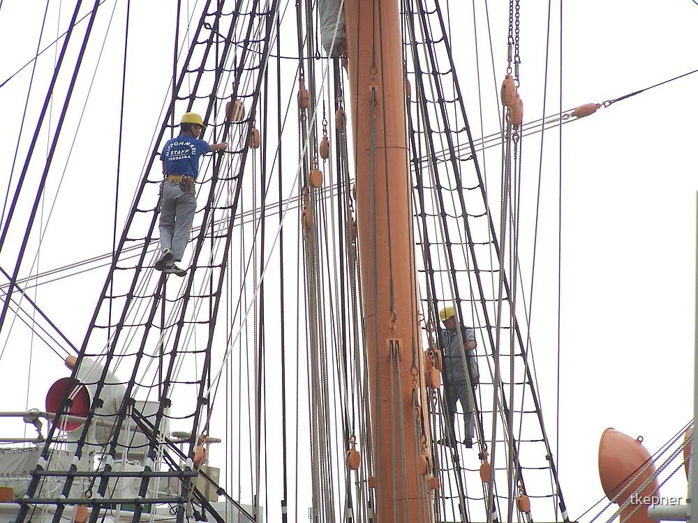Sailing Ship Nippon Maru 505 by tkepner